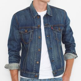 Levis  -  Kennedy 72333-0083 - Slim Fit Trucker - Jeans...