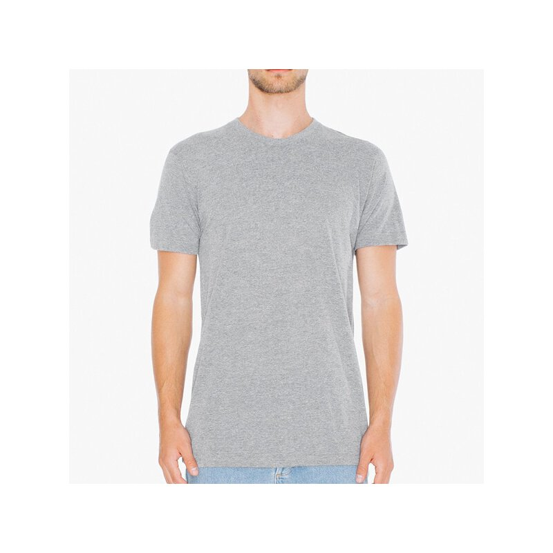 American Apparel - TR401 -  Tri Blend Shirt - athletic grey