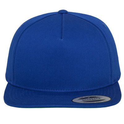 Flexfit -  Classic 5 Panel Snapback - royal