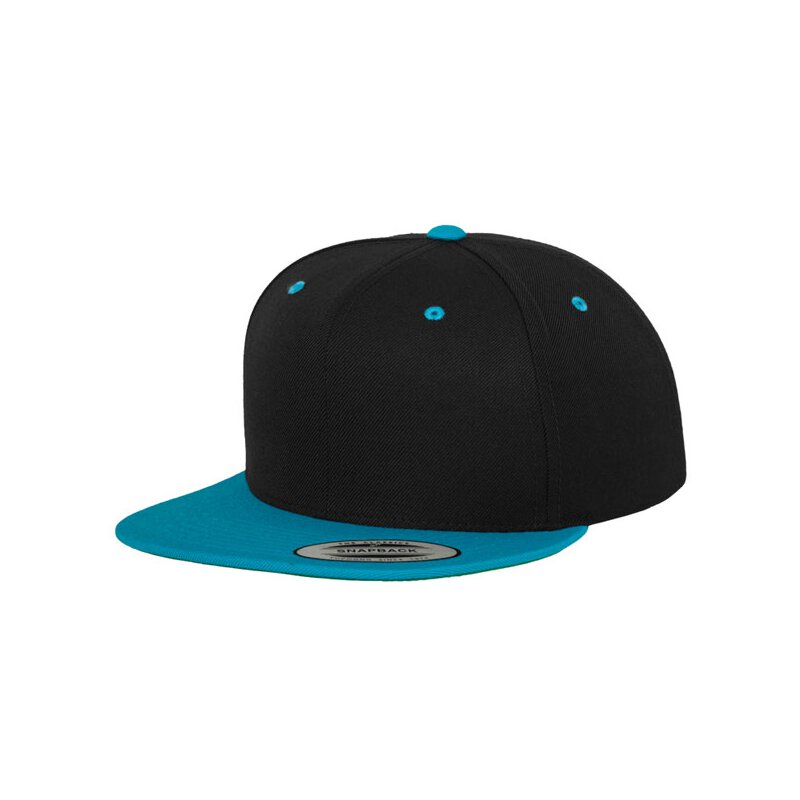 Flexfit - Snapback - black/teal