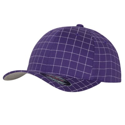Flexfit - Printed Baseball Cap - purple/white