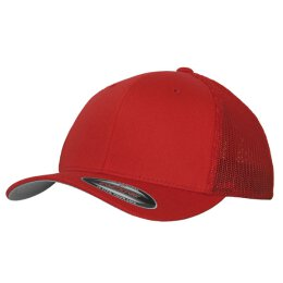 Flexfit - Mesh Trucker - red