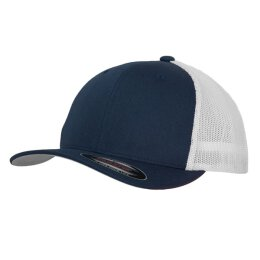 Flexfit - Mesh Trucker 2-Tone - navy/white
