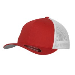 Flexfit - Mesh Trucker 2-Tone - red/white