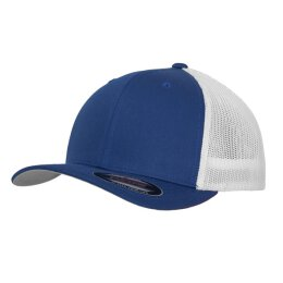 Flexfit - Mesh Trucker 2-Tone - royal/white