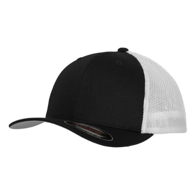 Flexfit - Retro Snapback Trucker 2-Tone (6606T) - black/white