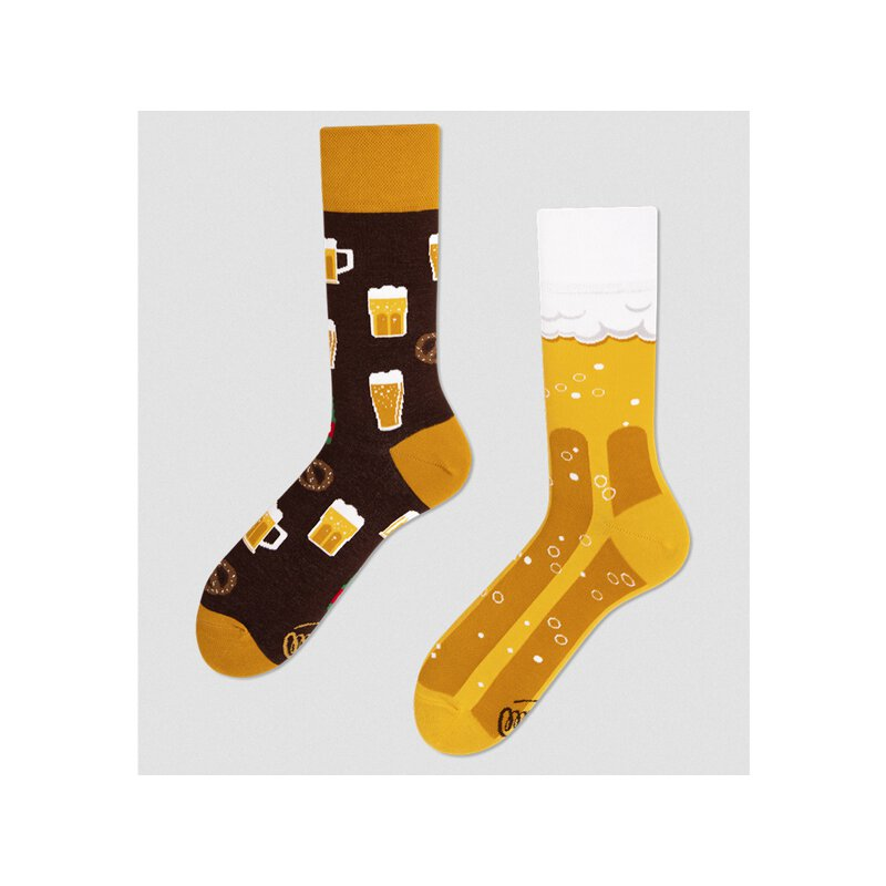 Many Mornings Socks - Craft Beer - Socken