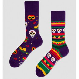 Many Mornings Socks - Fiesta Mexicana - Socken