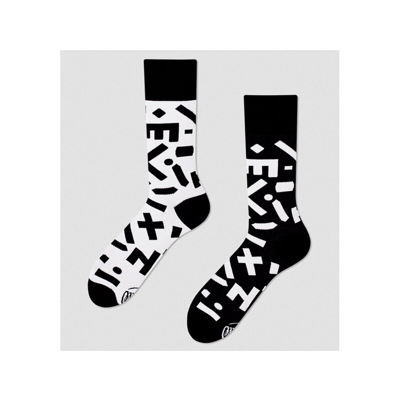 Many Mornings Socks - Random Forms - Socken