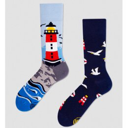 Many Mornings Socks - Nordic Lighthouse - Socken