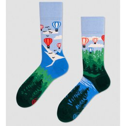 Many Mornings Socks - Balloon Adventure - Socken