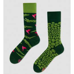 Many Mornings Socks - Forfitter (Crocodile)  - Socken