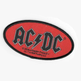 AC/DC - Logo - Patch (oval)