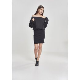 Urban Classics - TB2336 - Ladies Sweat Off Shoulder Dress...