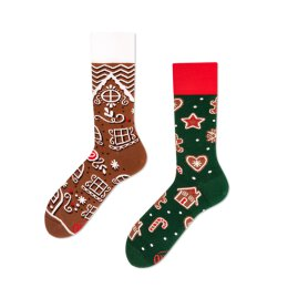 Many Mornings Socks - The Gingerbread Man - Socken
