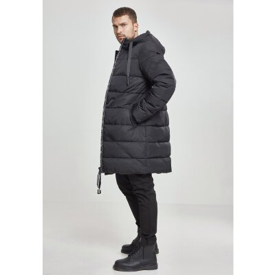 Urban Classics - TB2429 - Hooded Puffer Coat - black