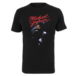 Urban Classics - MC436 Michael Jackson - T-Shirt - black