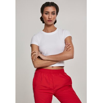 Urban Classics - TB2754 - Ladies Stretch Jesey Dropped Tee - white