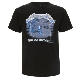 Metallica - Ride The Lightning - T-Shirt - black