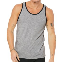Bella + Canvas - 3480 Unisex Jersey Tank Top - athletic...