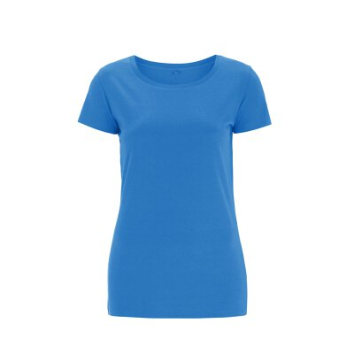 Continental - N09 Womens Regular Fit Round Neck T-Shirt - electric blue