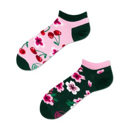 Many Mornings Socks - Cherry Blossom Low - Socken