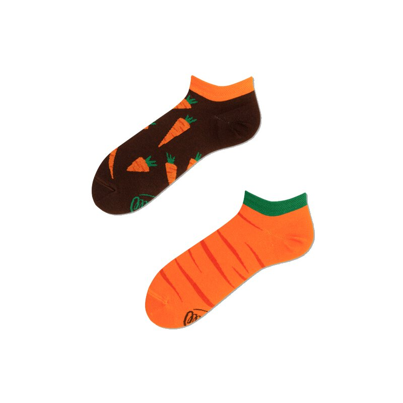 Many Mornings Socks - Garden Carrot Low - Socken