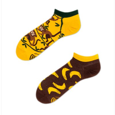 Many Mornings Socks - Monkey Business - Socken Low