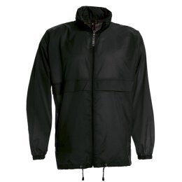 B&C - Unisex / Men Windbreaker (JU800) - black