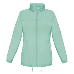 B&C - Ladies Windbreaker (JW902) - pixel turqoise