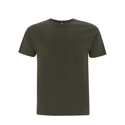 Continental/ Earthpositive - EP01 - ORGANIC MENS/UNISEX T-SHIRT - moss green