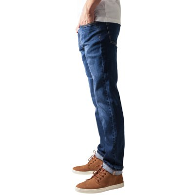 Urban Classics - TB1437 - Stretch Denim Pants - Jeans - dark blue