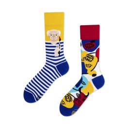 Many Mornings Socks - Picassosocks - Socken