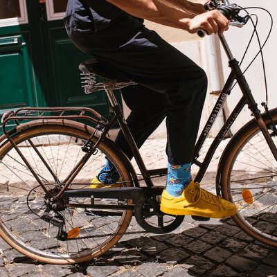 Many Mornings Socks - The Bicycles - Socken