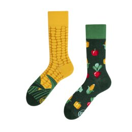 Many Mornings Socks - Veggie Mix - Socken
