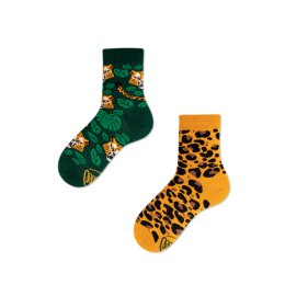 Many Mornings Socks - El Leopardo - Kids Socken