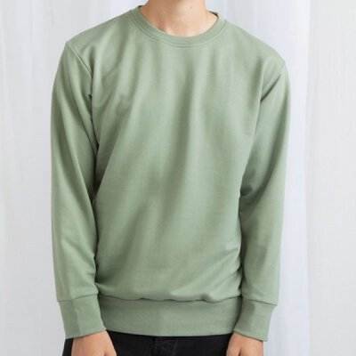 Mantis -  M194 The Sweatshirt (French Terry) - soft olive
