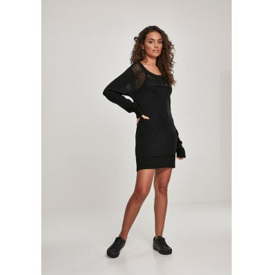 Urban Classics - TB3032 - Ladies Light Knit Dress - black