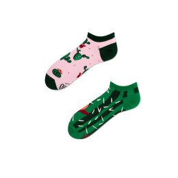 Many Mornings Socks - Summer Cactus Low - Socken