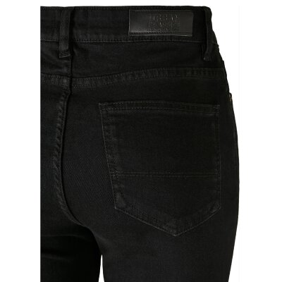 Urban Classics - TB2970 - Ladies High Waist Skinny Jeans - black wash
