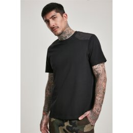 Urban Classics - TB3106 - Military Tee - black