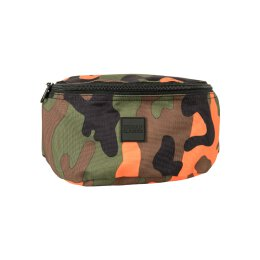 Urban Classics - TB2139 - Camo Hip Bag - orange camo