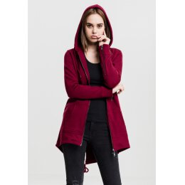 Urban Classics - TB1075 - Ladies Sweat Parka - burgundy