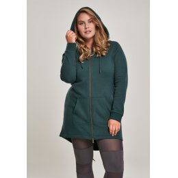 Urban Classics - TB1075 - Ladies Sweat Parka - bottlegreen