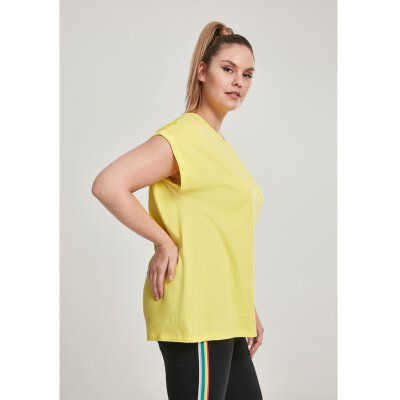 Urban Classics - TB771 - Ladies Extended Shoulder Tee - brightyellow