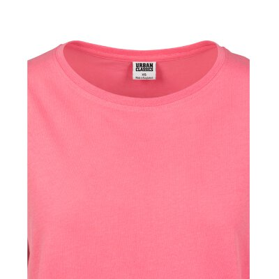 Urban Classics - TB771 - Ladies Extended Shoulder Tee - pinkgrapefruit
