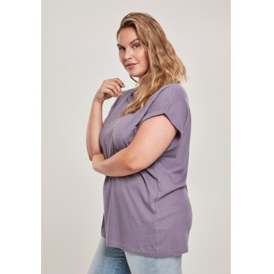 Urban Classics - TB771 - Ladies Extended Shoulder Tee - dustypurple