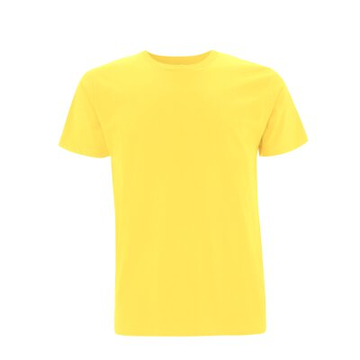 Continental/ Earthpositive - EP01 - ORGANIC MENS/UNISEX T-SHIRT - buttercup yellow