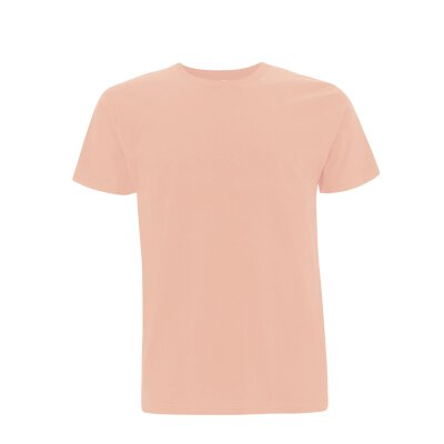 Continental/ Earthpositive - EP01 - ORGANIC MENS/UNISEX T-SHIRT - misty pink