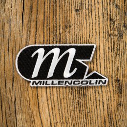 Millencolin - Logo Cut Out - Aufnäher (Patch) - black/white